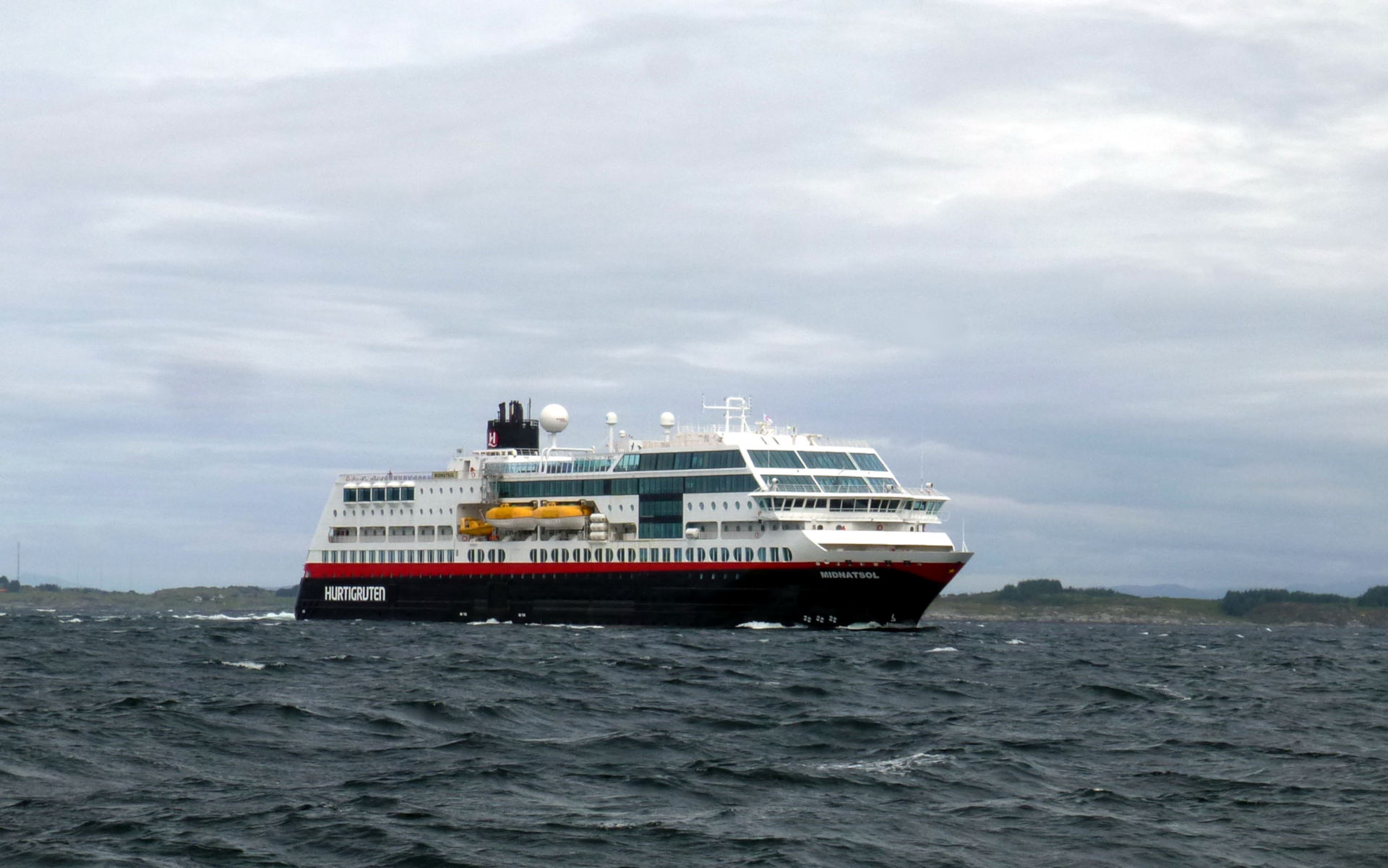 Hurtigruten Norwegen