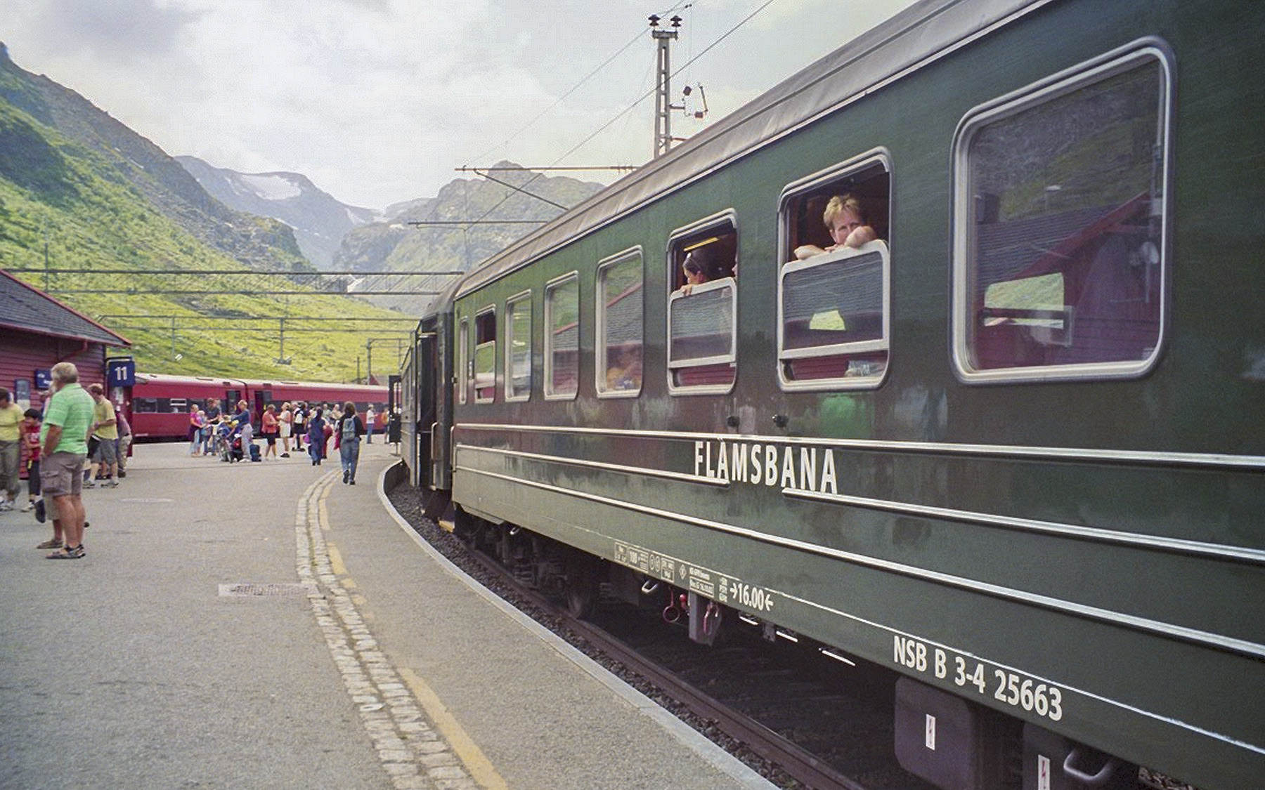 Interrail Norwegen Flåmsbana