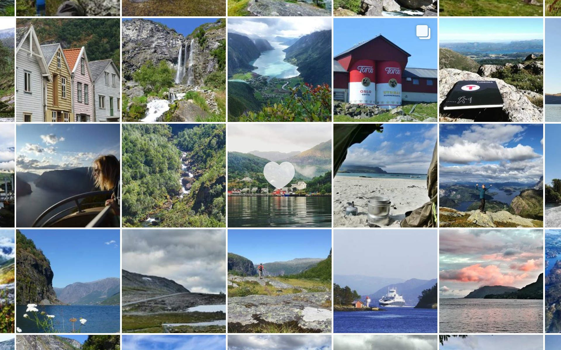 Instagram Guide Norwegen