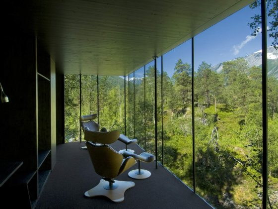 Design und Boutique Hotels in Norwegen - Juvet Landscape Hotel